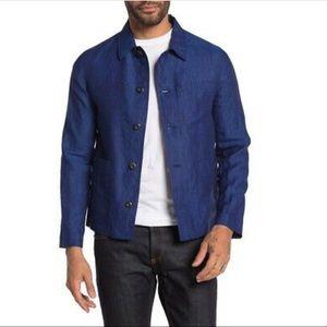 Burberry Ainsworth Linen Button-Down Shirt